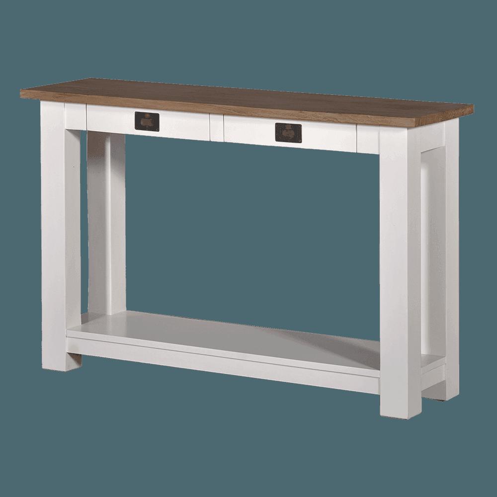 Tafel - Bijzettafels - Lisa - sofa table with shelf below