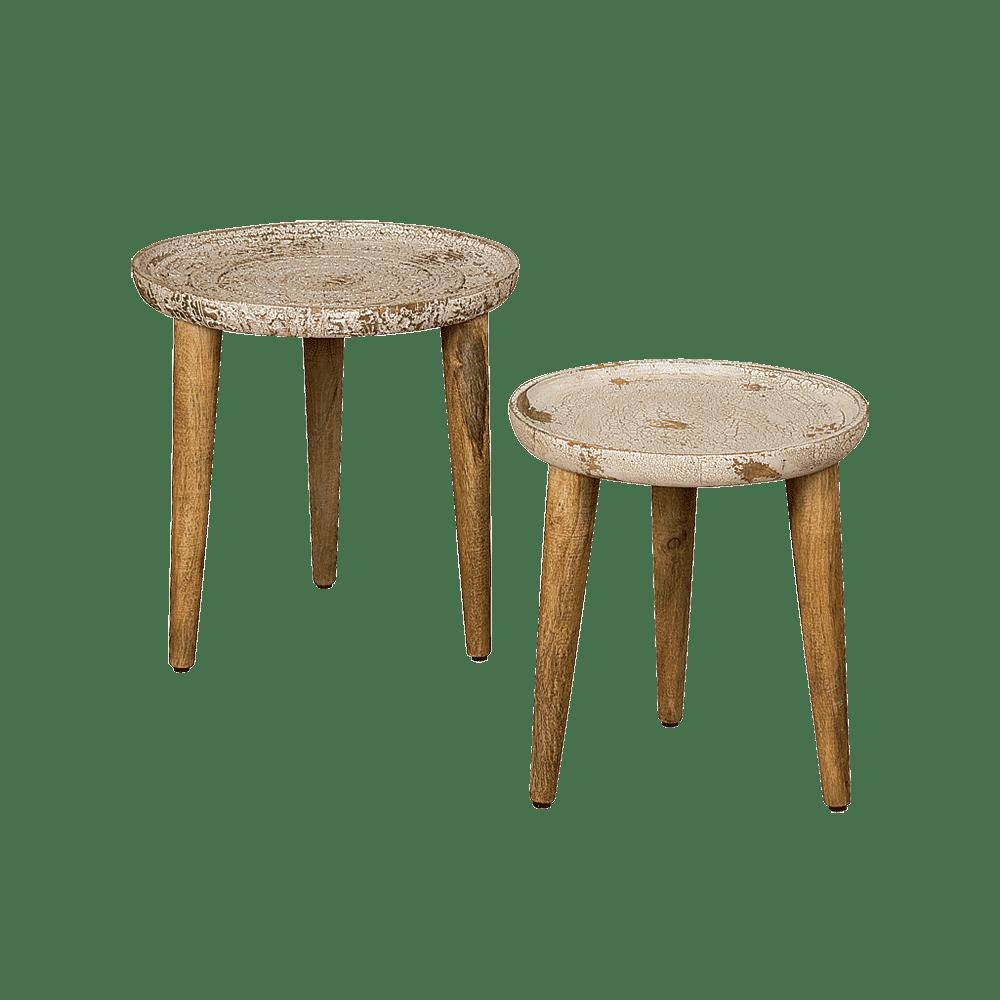 Tafel - Bijzettafels - Coffeetable set of 2