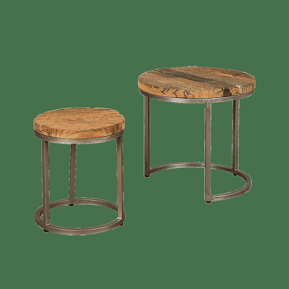 Tafel - Salontafels - Coffeetable set of 2