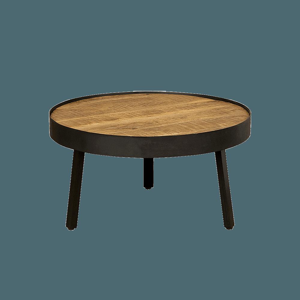 Tafel - Salontafels - Round coffeetable 74x74x40