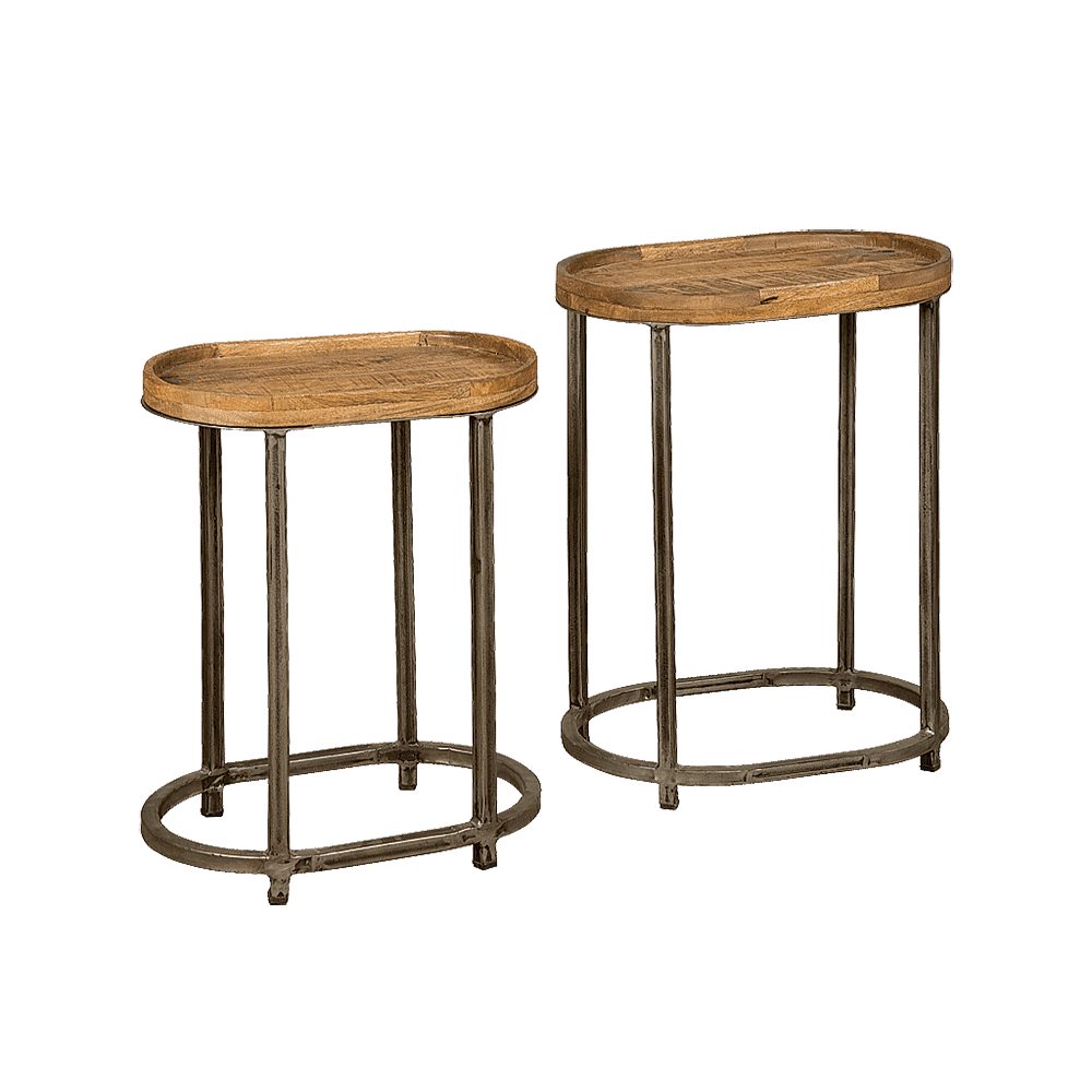 Tafel - Bijzettafels - Set of 2 nesting tables