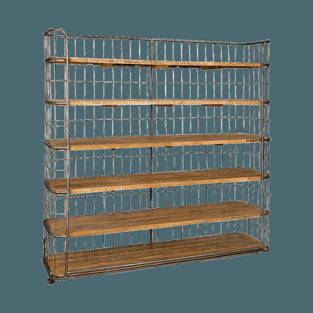 Kast - Wandrekken - Storage unit 180x46x191