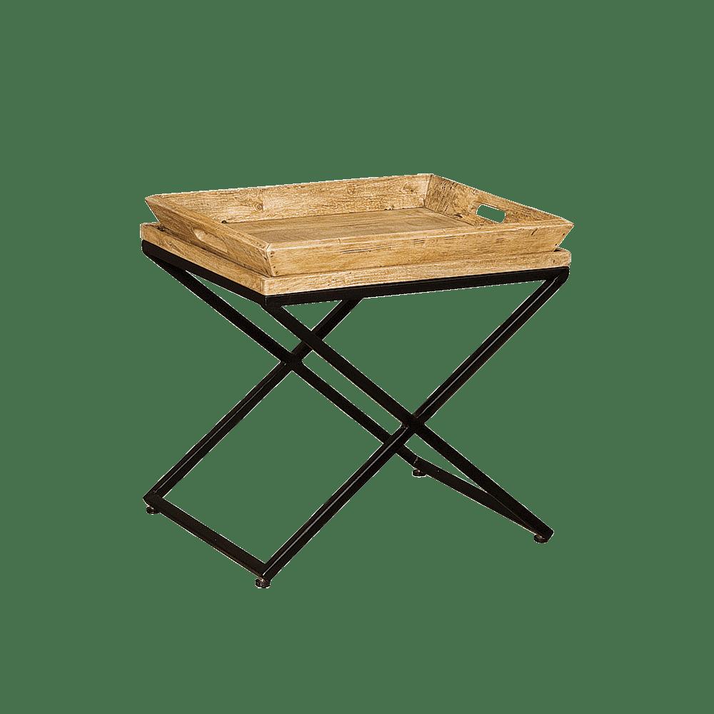 Tafel - Bijzettafels - Traytable 55x45x56