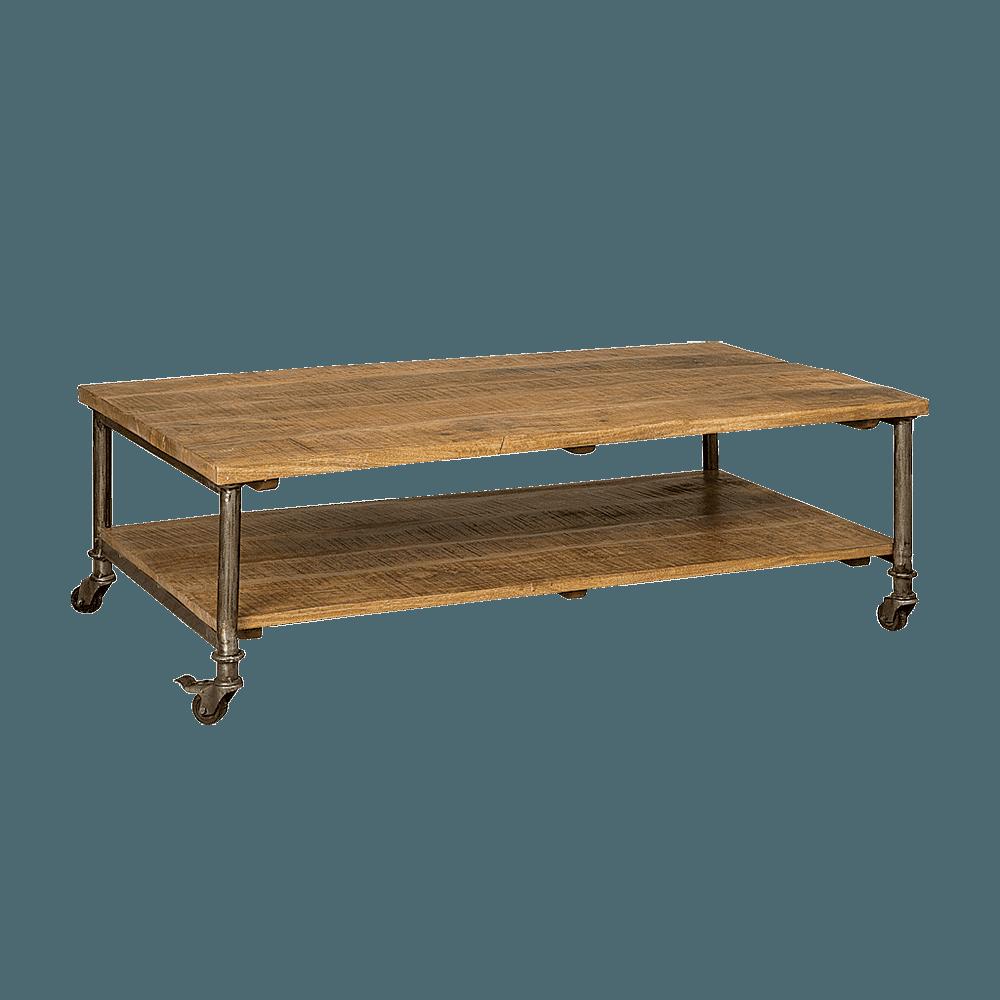 Tafel - Salontafels - Wheel coffeetable 125x70x40