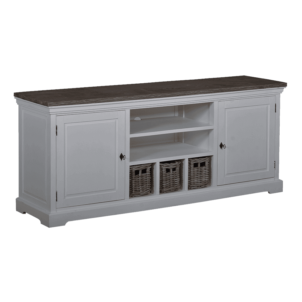 Kast - Tv-Kasten - Napoli - tv cabinet 2 drs. - 3 drws.
