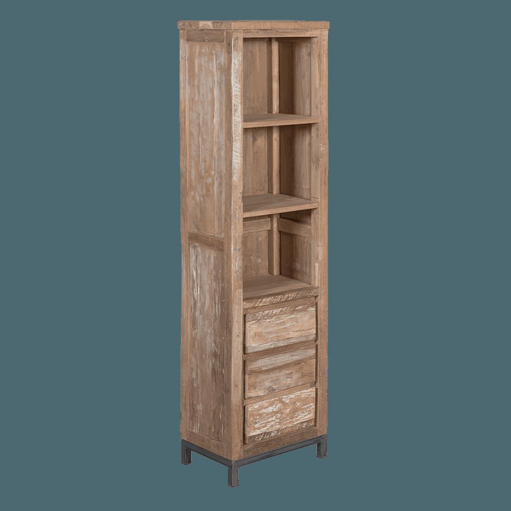 Kast - Vakkenkasten - Veneti? bookcase 3 drws.
