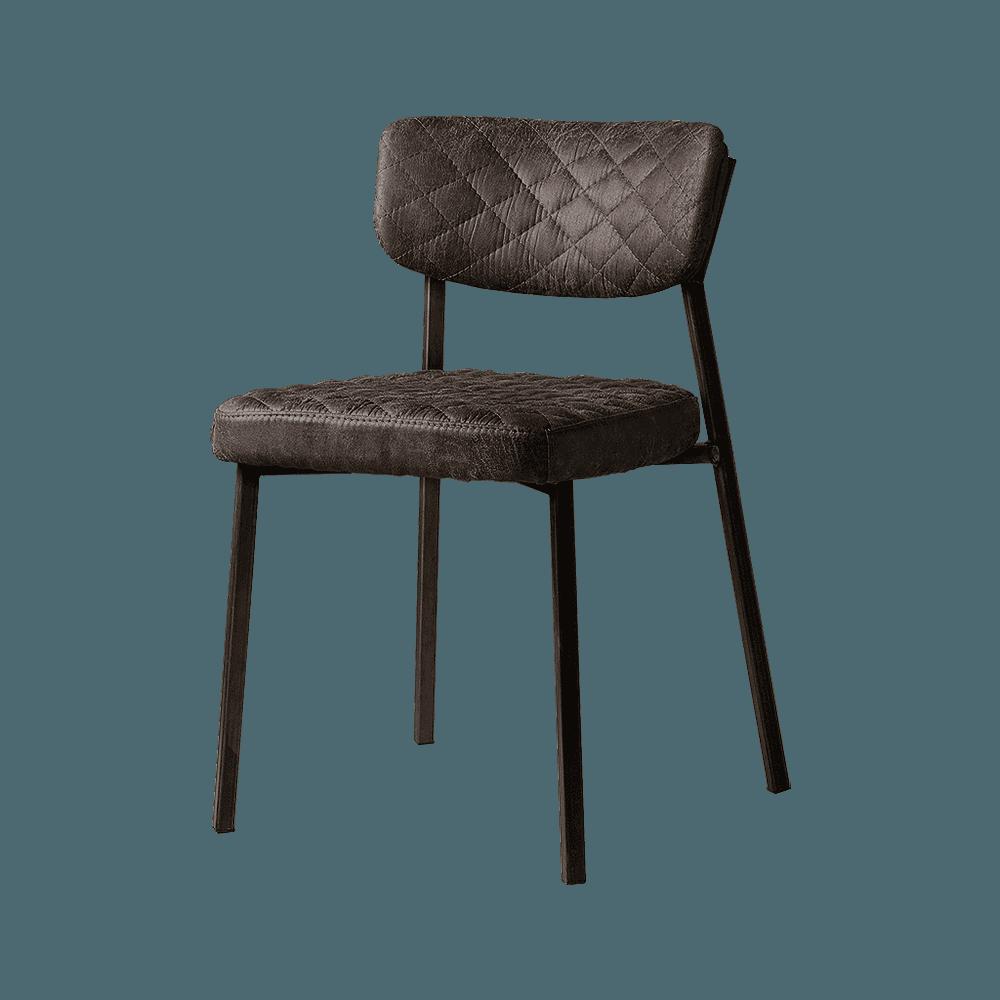 Stoel - Eetkamerstoelen - Altea sidechair - fabric t-anthracite
