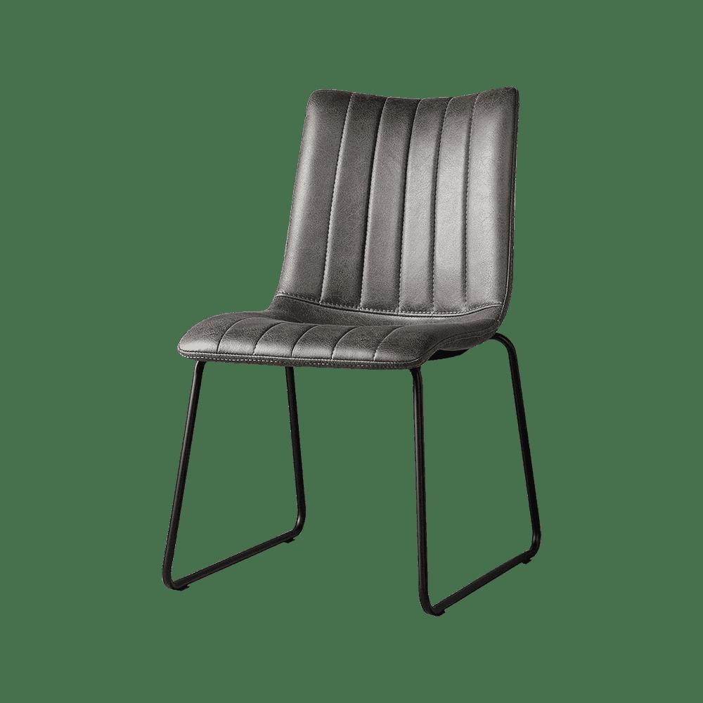 Stoel - Eetkamerstoelen - Bunol sidechair - savannah anthracite
