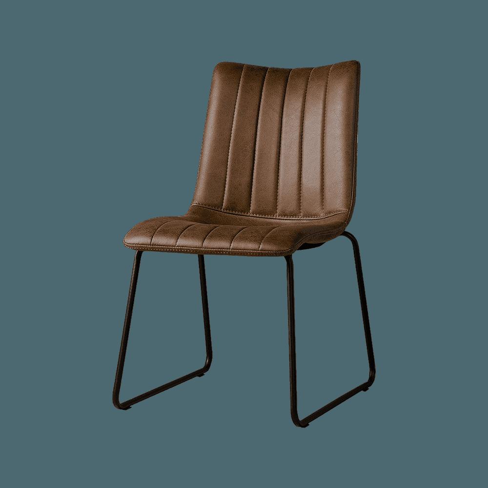 Stoel - Eetkamerstoelen - Bunol sidechair - savannah dark brown 1078-03