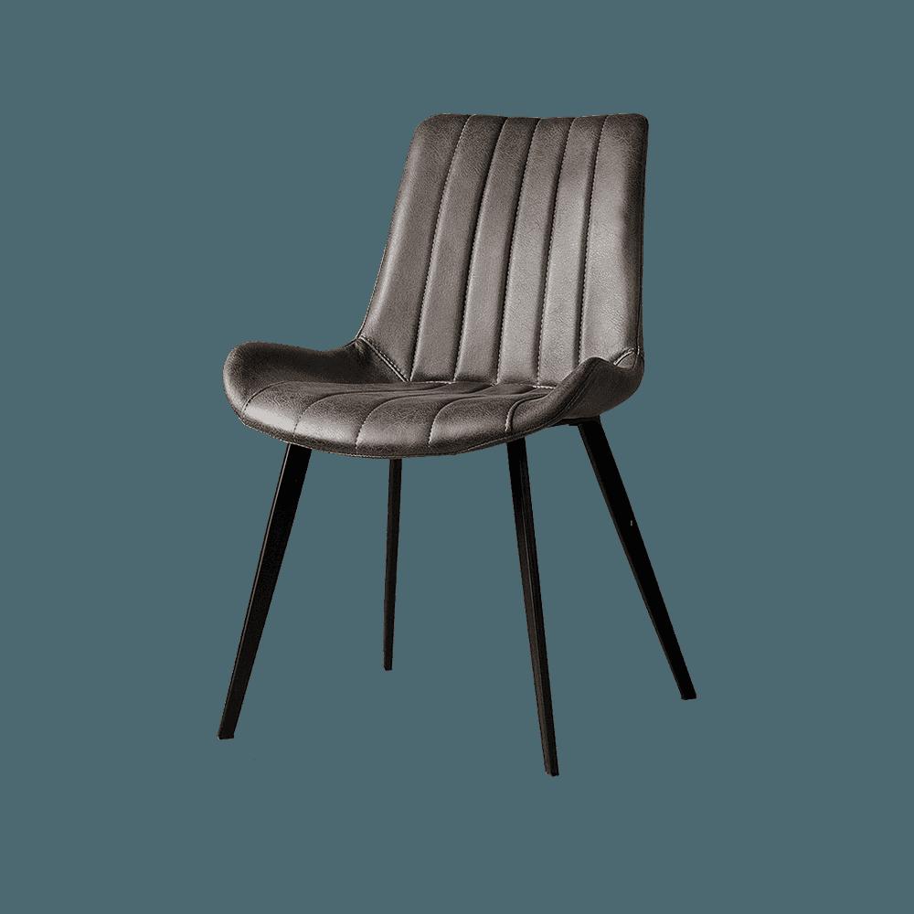 Stoel - Eetkamerstoelen - Eljas sidechair - savannah anthracite