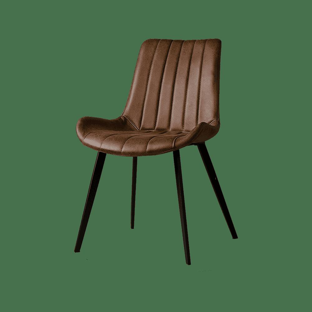 Stoel - Eetkamerstoelen - Eljas sidechair - savannah dark brown 1078-03