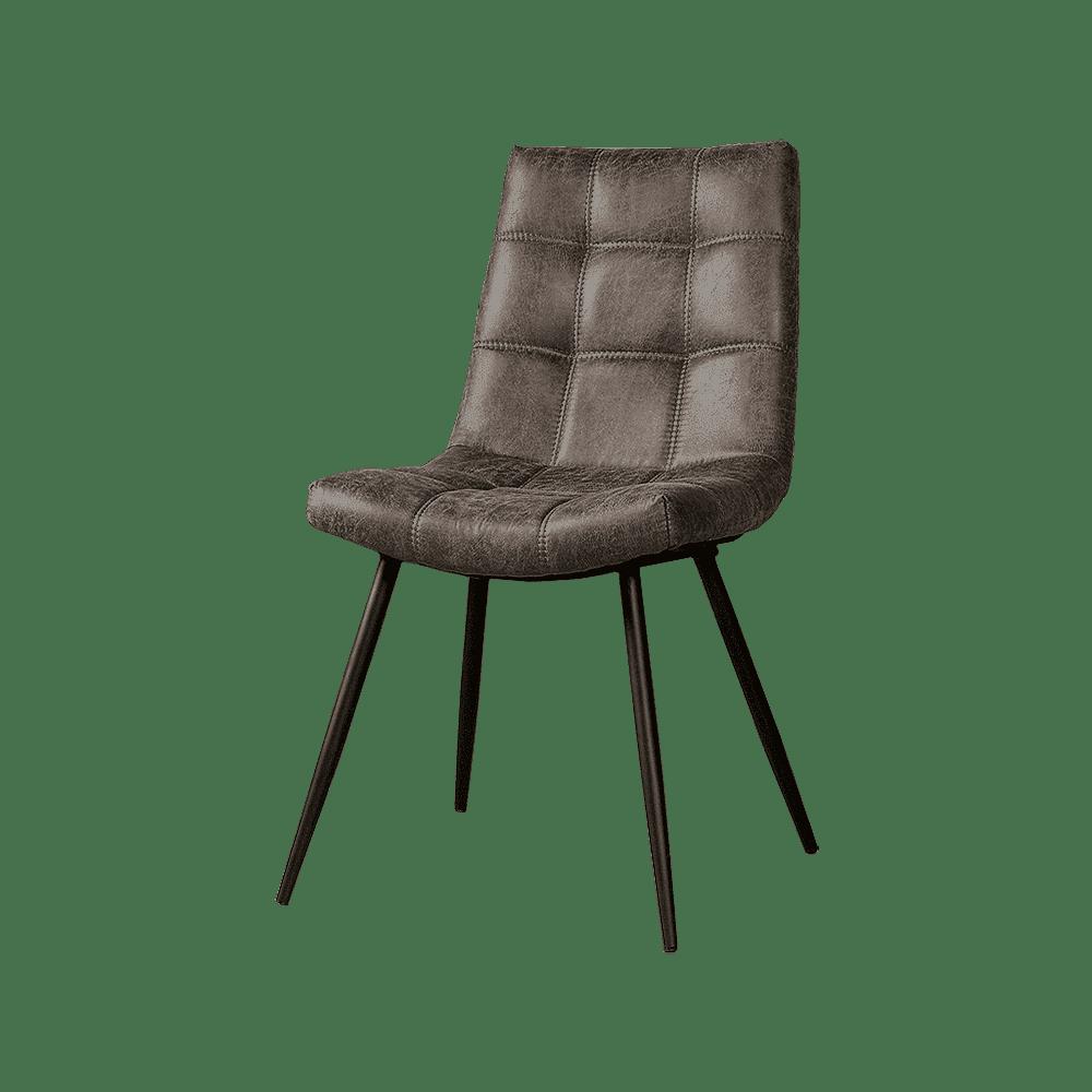 Stoel - Eetkamerstoelen - Navarra sidechair - fabric t-anthracite