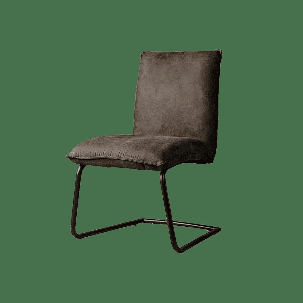Stoel - Eetkamerstoelen - Pinto sidechair - fabric ybf-104 anthracite