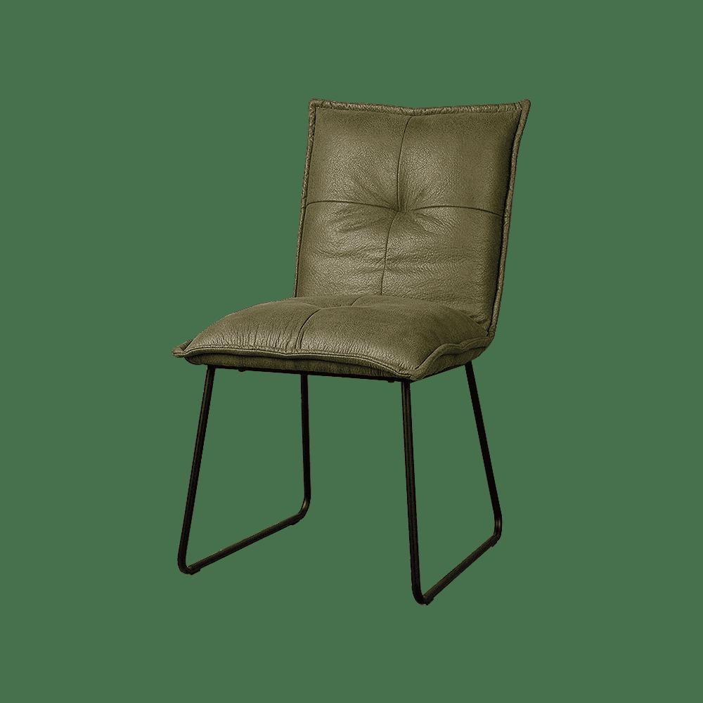 Stoel - Eetkamerstoelen - Seda sidechair - fabric cherokee 13 green