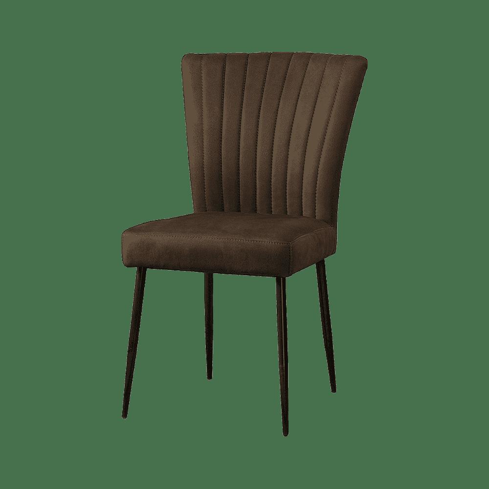 Stoel - Eetkamerstoelen - Toledo sidechair - savannah dark brown 1078-3