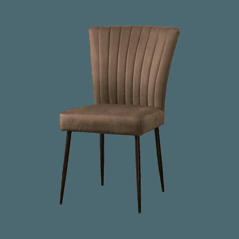 Stoel - Eetkamerstoelen - Toledo sidechair - savannah light brown 1049