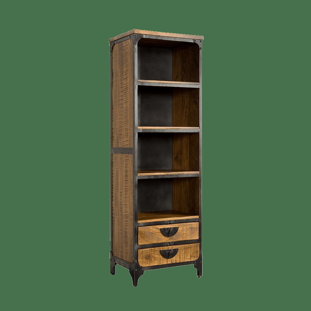 Kast - Vakkenkasten - Basto - bookshelf 2 drws.