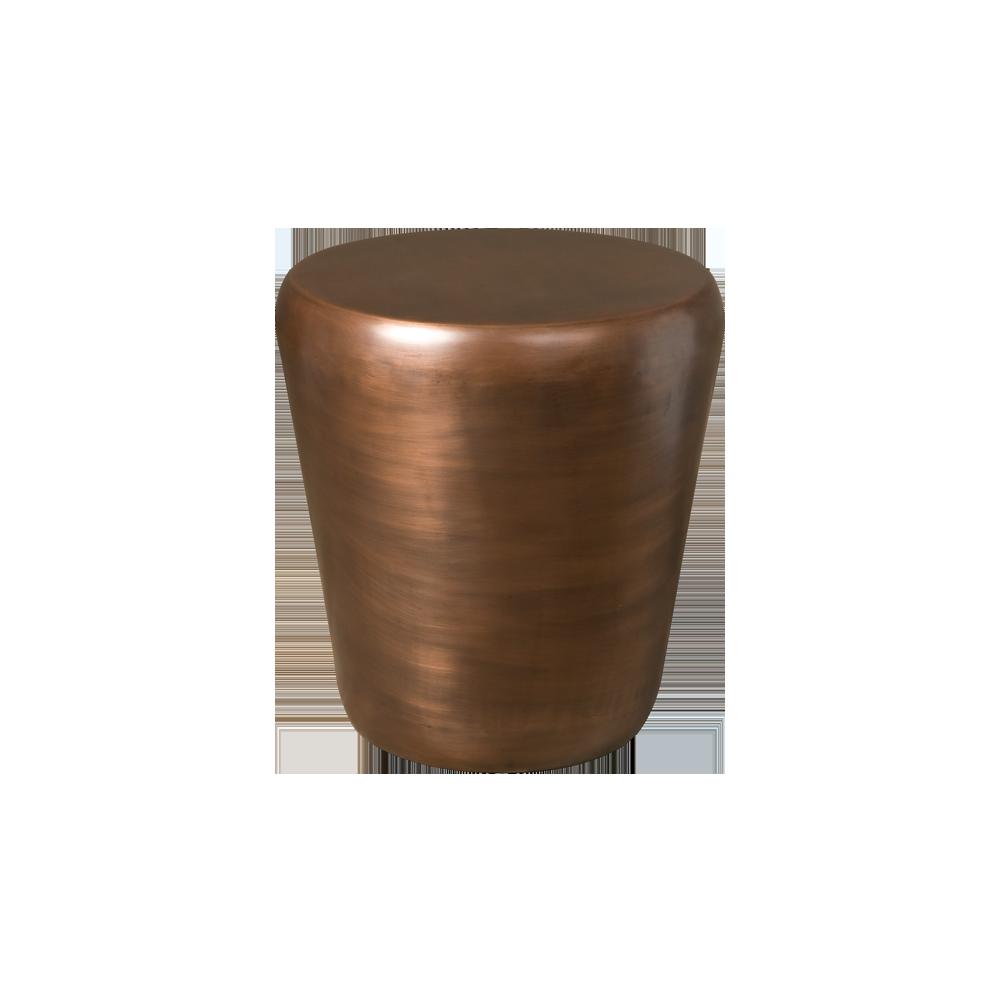 Tafel - Bijzettafels - Drum endtable 53x53x56