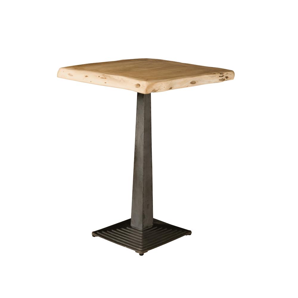 Tafel - Bartafels - Bistro tree-trunk bar table 80x80x105 - top 6