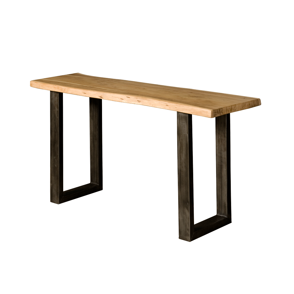 Tafel - Bijzettafels - Urbania tree-trunk console table 150x45x70 - top 4