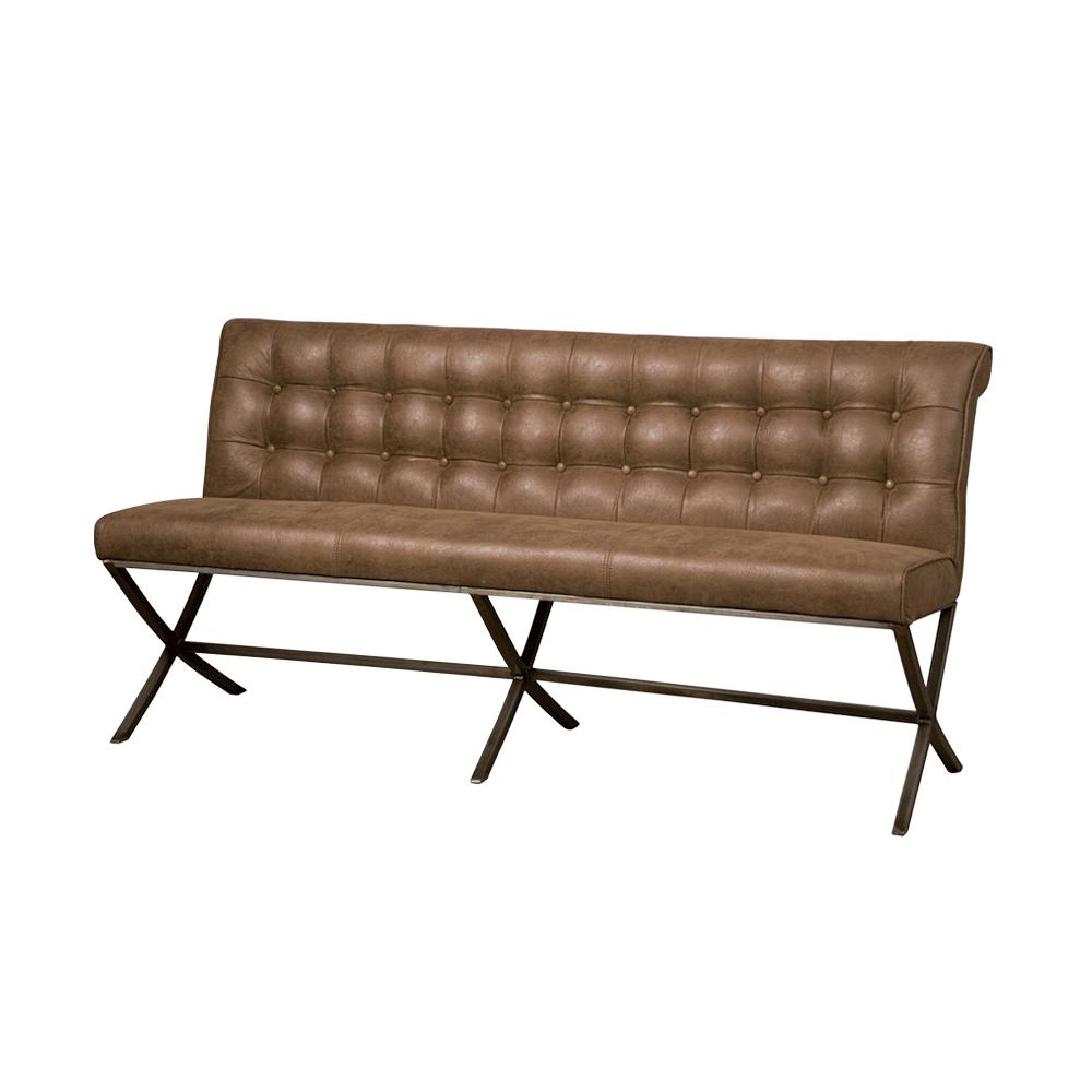 Bank - Hockers - Barcelona bench 185 - fabric cherokee 9 brown
