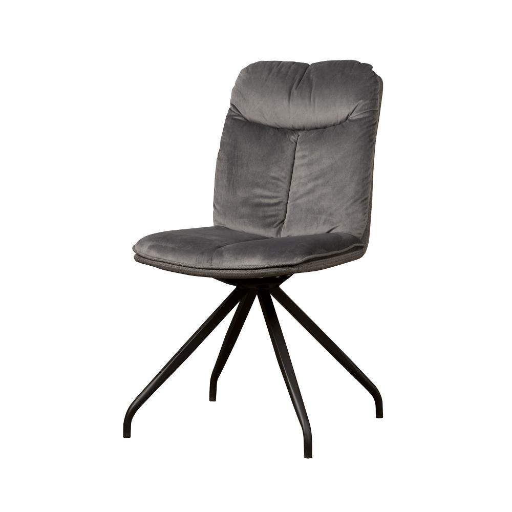 Stoel - Eetkamerstoelen - Rota swivel sidechair - lush 812-229 grey