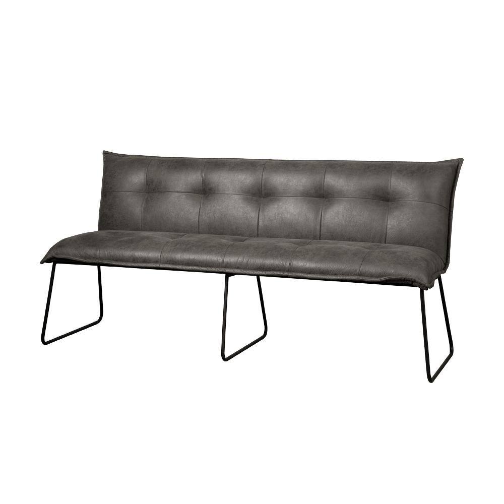 Bank - Hockers - Seda bench 155 - fabric cherokee 1 grey