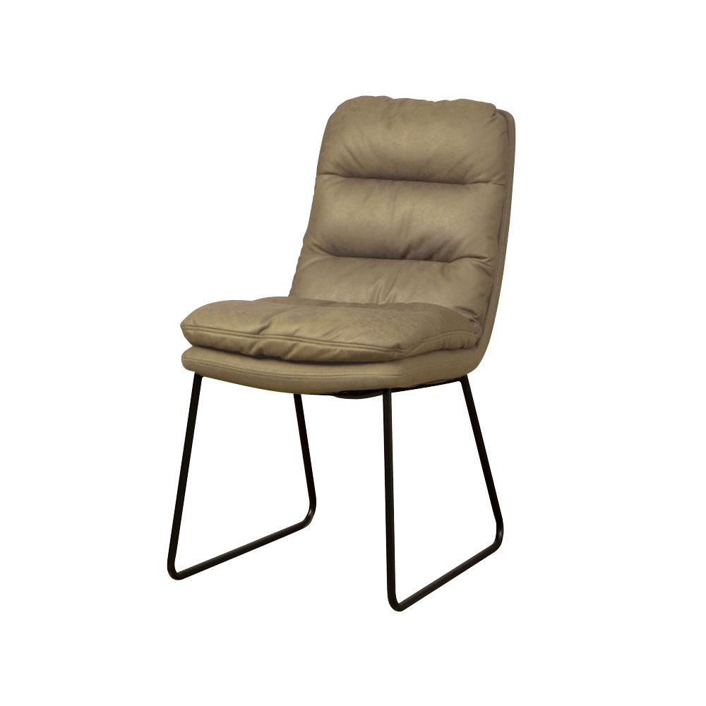 Stoel - Eetkamerstoelen - Toro sidechair - cabo 385 green