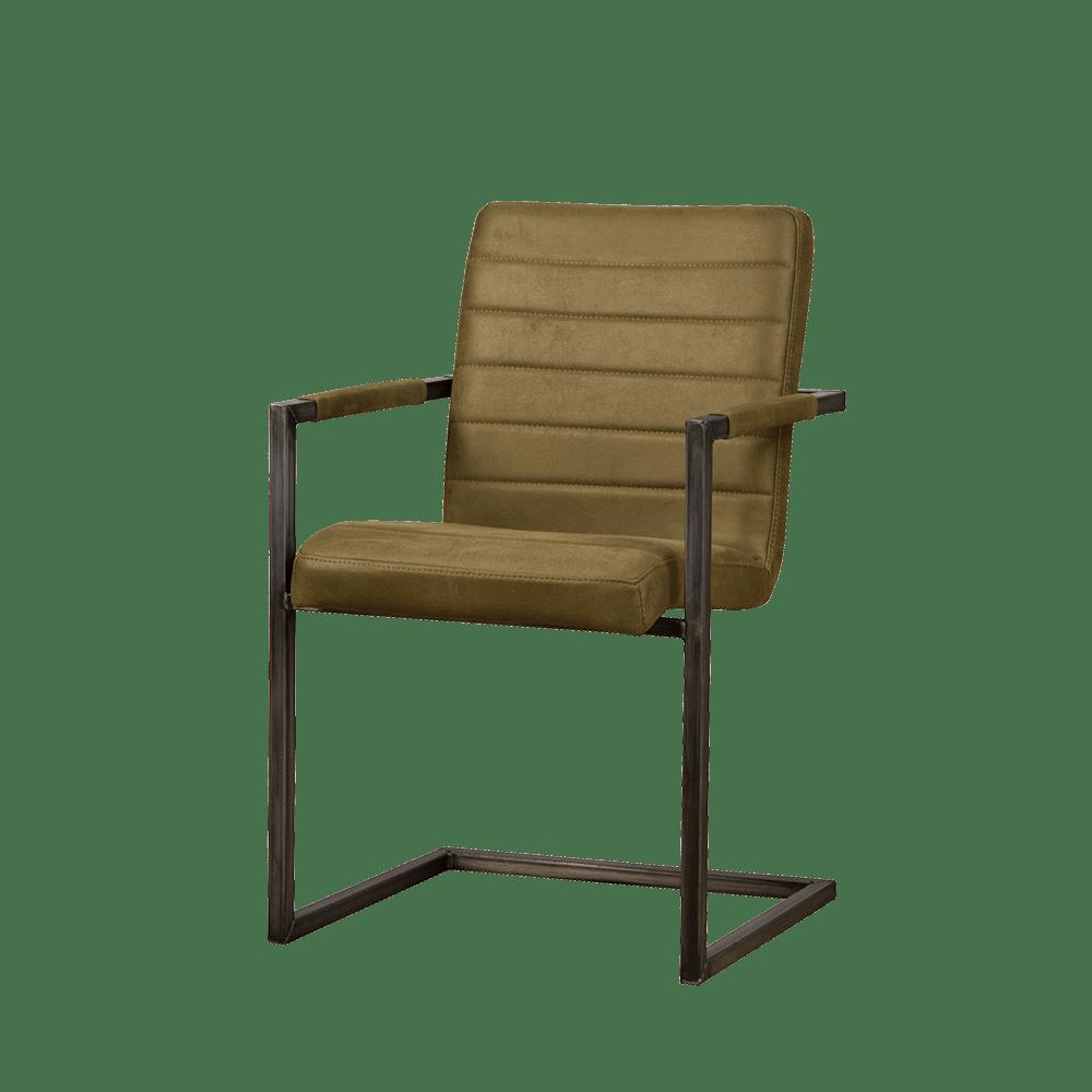Stoel - Eetkamerstoelen - Rocca armchair - bull green