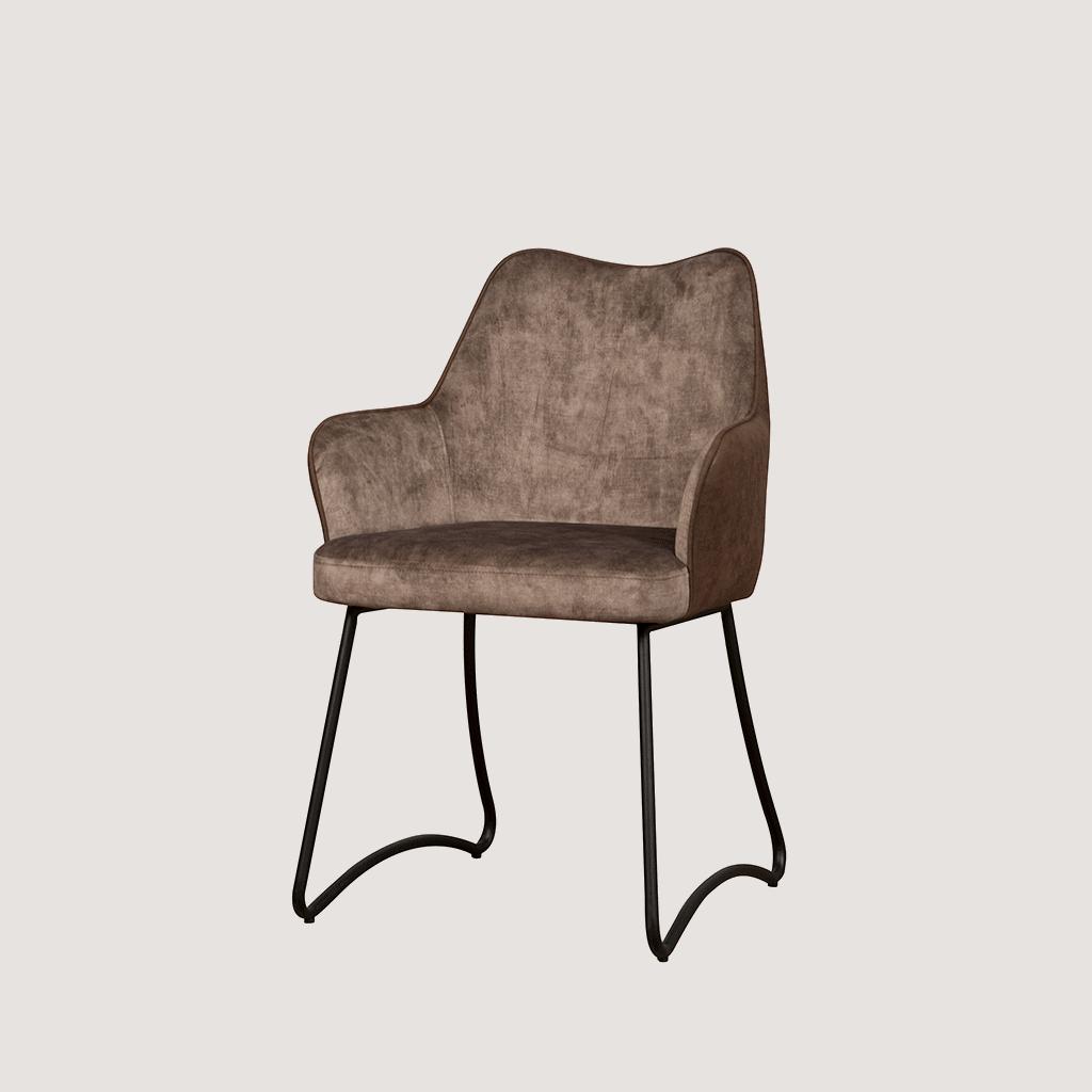 Stoel - Eetkamerstoelen - Garda armchair - brown yc1939-5 / brownybf-389