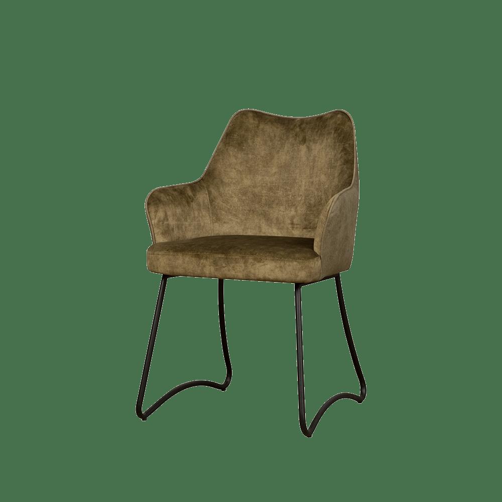 Stoel - Eetkamerstoelen - Garda armchair - green yc1939-16 / greenybf-385